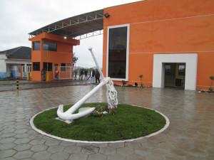 Novo prédio do Porto de Antonina